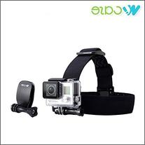 WoCase® Adjustable  Head Strap Mount and Quick Clip Mount