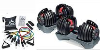 Adjustable Bowflex Selecttech 552 Dumbbells  and Black