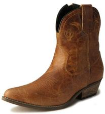 Dingo Adobe Rose Ladies Brown Leather Boots 7 M