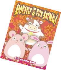 Adorable & Fun Animals Kids Coloring Book