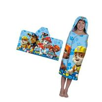 Adorable Nickelodeon Paw Patrol Rescue Crew Hooded Bath