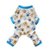 Fitwarm Adorable Paws Dog Pajamas for Dog Shirt Cozy Soft