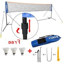 Height Adujstable Badminton Net , Tennis Volleyball Net with