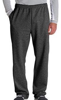 Jerzees Adult NuBlend Open-Bottom Sweatpants with Pockets -