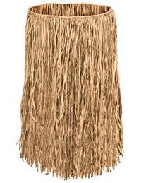 Beistle Adult Raffia Hula Skirt, 32-Inch Width by 30-Inch