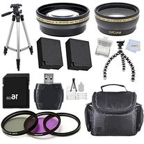 Advanced Accessory Package for Panasonic Lumix DMC-FZ200 12.