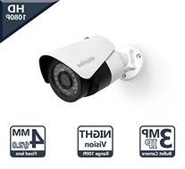 LaView Advanced IP 3MP High Resolution, Day and Night,