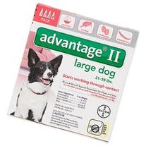 Advantage II for Dogs 21 to 55 lbs - 4 pack