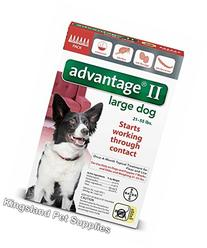 Advantage II 6 Month Dogs 21-55 Lbs