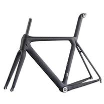 ICAN 700C Road Bike Frame with Fork Full Carbon Fiber BSA UD
