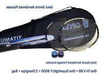 Genji Sports Aero Speed Badminton Package, Right, Small/Long