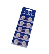 AG5 393 LR754 SR754 Alkaline Battery Button Cell