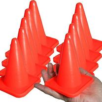 BlueDot Trading Agility Cones , 4-Inch