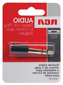 RCA AH216 Stereo Headphone Adapter Plug
