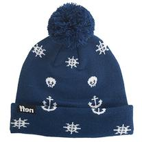 Neff Mens Ahoy Beanie Hat, Navy, One Size