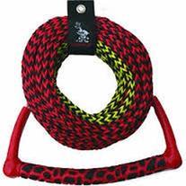 AIRHEAD AHSR-3, 3-Section Water Ski Rope with Radius Handle