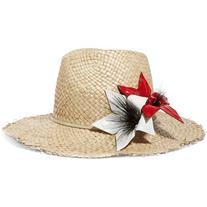 Eugenia Kim Ailin eel-trimmed straw Panama hat