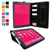 Snugg Leather Card Slots Case or Apple iPad Air 1 - Black