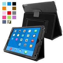 Snugg Apple iPad Air 2 Case - Leather Smart Cover Case With