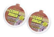 Citrus Magic Air Freshener Solid, Cedar, 8 oz-2 pk
