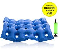 Premium Air Inflatable Seat Cushion 17 X 17 Heat Sealed