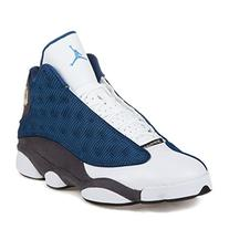 "Nike Mens Air Jordan 13 Retro ""Flint 2010"" French Blue/Flint"
