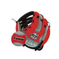 Air Tech Soft Foam Baseball Glove and Ball Set Red