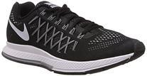 Nike Mens Air Zoom Pegasus 32 Running Shoes Black/Dark Grey/