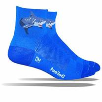 DeFeet AirEator 2.5in Attack! Cycling/Running Socks - AIRATT