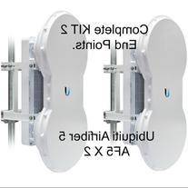 Ubiquiti Airfiber AF5 KIT 2 End Points mid-band 5GHz 1.2+