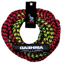 AIRHEAD 2 Rider Tube Rope, 2 Sect, Float