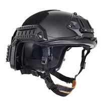 AIRSOFT OPS CORE BLACK SWAT TACTICAL MARITIME FMA ABS HELMET