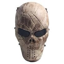 Signstek Airsoft Protective Mask Gear Full Face Skull