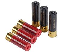 Airsoft Shotgun Shells 6-pack with holder for Double Eagle