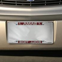 NCAA Alabama Crimson Tide Chrome Plate Frame