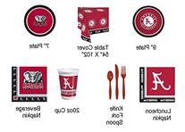 Creative Converting Alabama Crimson Tide Tailgate Graduation