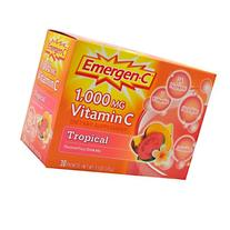 Alacer, Emergen-C, 1,000 mg Vitamin, Tropical Flavored Fizzy