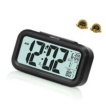 "ZHPUAT 4.6"" Smart Backlight Alarm Clock with Dimmer"