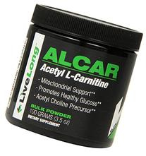 LiveLong Nutrition Alcar, 3.5 Ounce