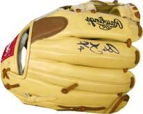 Alex Gordon Autographed Game Model Glove