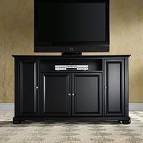 Crosley Furniture Alexandria 60-Inch TV Stand, Black