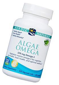 Nordic Naturals Algae Omega, 650 mg, 60 Count