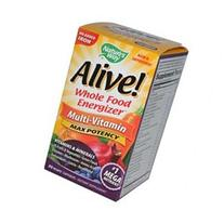 Nature's Way Alive! Whole Food Energizer Mult-Vitamin - 90