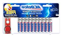 ACDelco Super Alkaline AAA Batteries with Bonus LED Keychain
