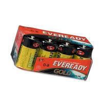 "Eveready Alkaline Battery, Economical, ""D"" Size, 8/PK"