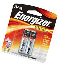 MAX Alkaline Batteries, AAAA, 2 Batteries/Pack 2 Batteries/