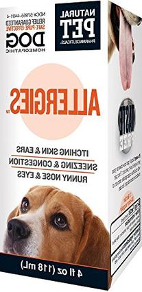 Natural Pet Pharmaceuticals by King Bio Allergies for Dog, 4