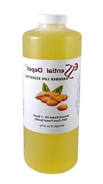 Almond Oil Sweet Oil - 1 Quart - 32 oz