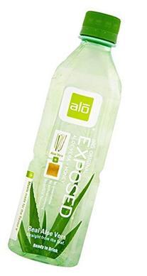 ALO Exposed Aloe Vera Beverage, Honey, 16.9 Ounce