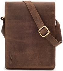 LEABAGS Dover genuine buffalo leather messenger bag in